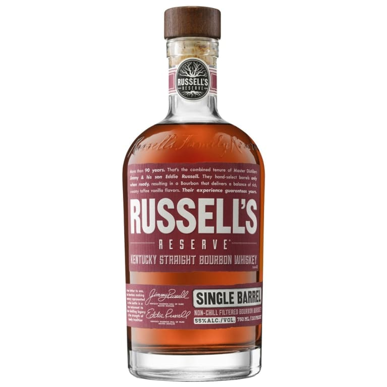 Russell's Reserve Single BArrel Kentucky Straight Bourbon Whiskey - Grapes & Hops Deli