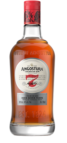Angostura Caribbean Rum aged 7 Years - Grapes & Hops Deli