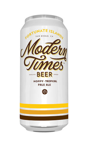 Modern Times Fortunate Islands Hoppy Tropical Pale Ale - Grapes & Hops Deli