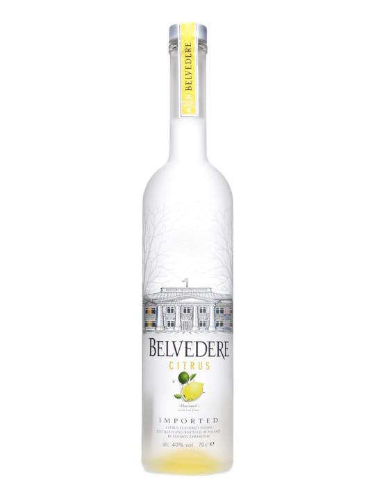 Belverdere Citrus Vodka - Grapes & Hops Deli