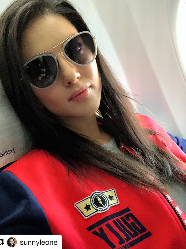 WOMEN'S GULLY LIMITED EDITION BOMBER JACKET RED AND NAVY