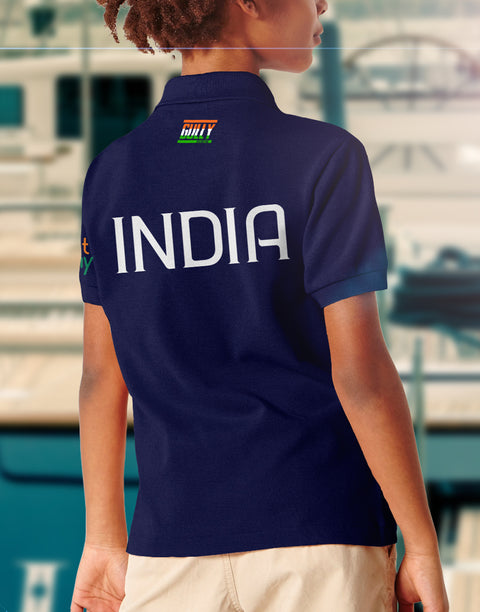 KIDS BHARAT ARMY 2020 EDITION JERSEY