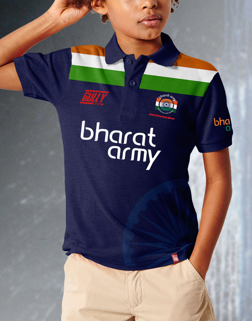 KIDS BHARAT ARMY 2020/21 OZ TOUR SERIES WINNERS EDITION JERSEY