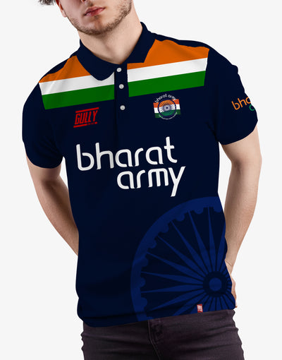 BHARAT ARMY 2020 EDITION JERSEY WITH CUSTOMISE OPTION