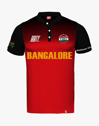 BANGALORE SAME GAME JERSEY WITH CUSTOMISE OPTION