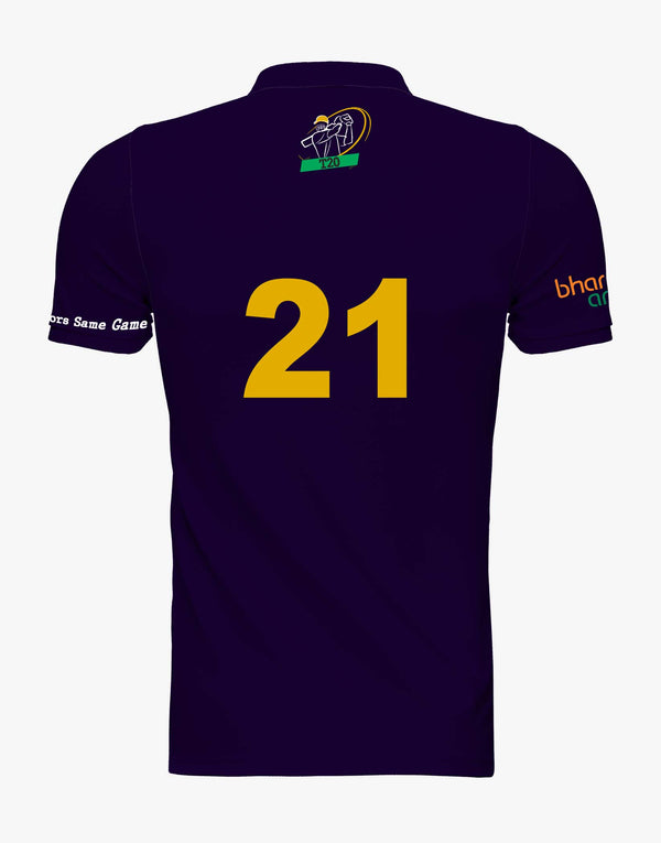 Kolkata Same Game Jersey with customise option