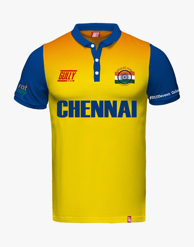CHENNAI SAME GAME JERSEY WITH CUSTOMISE OPTION