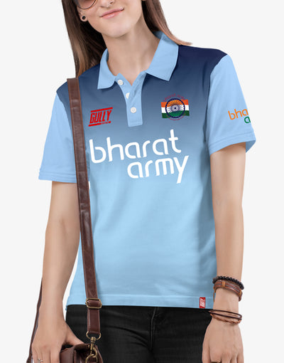 Bharat Army Jersey Blue WITH CUSTOMISE OPTION