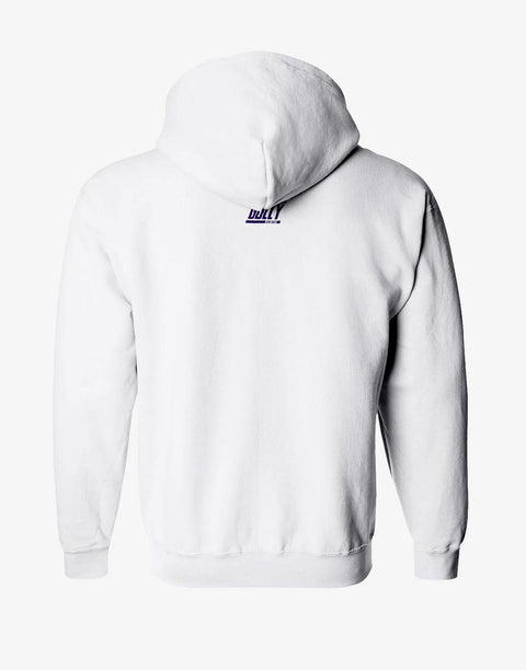 GULLY X KKR OFFICIAL WHITE HOODIE