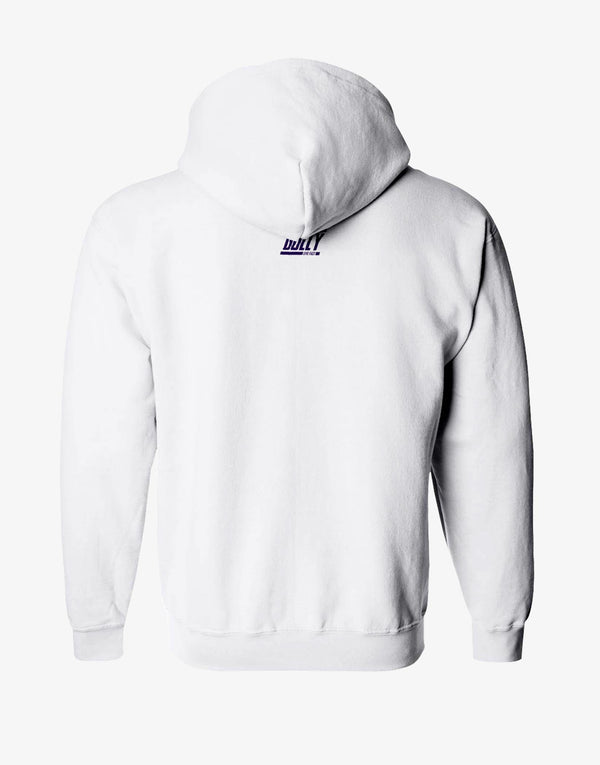 MEN'S KKR OFFICIAL 2020 HOODIE WHITE