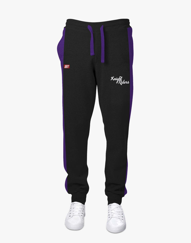 MEN'S KKR OFFICIAL 2020 JOGGERS BLACK
