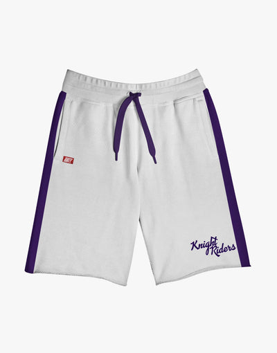 GULLY X KKR OFFICIAL WHITE SHORTS