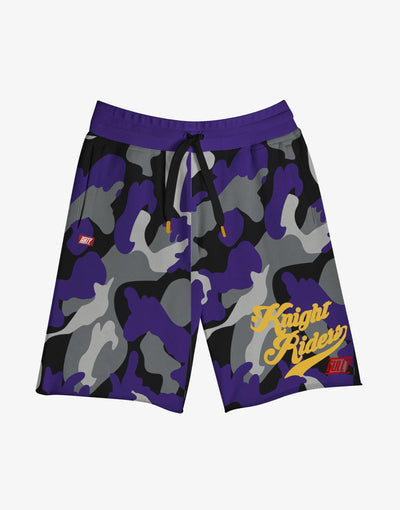 GULLY X KKR OFFICIAL PURPLE SHORTS