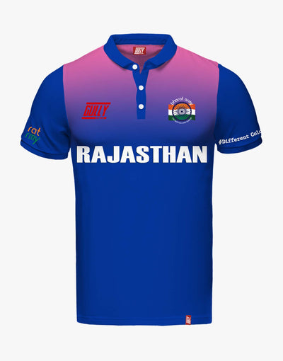 RAJASTHAN SAME GAME JERSEY WITH CUSTOMISE OPTION