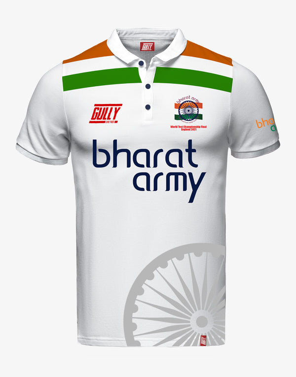 Bharat army World test championship Final England 2021 jersey WITH CUSTOMISE OPTION