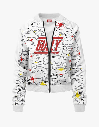 SPACE 4301 BOMBER White