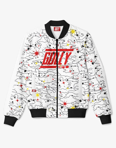 WOMENS SPACE 4301 BOMBER White