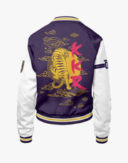 KKR OFFICIAL 2019 BOMBER JACKET PRINTED