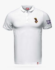 MEN'S KKR OFFICIAL 2020 POLO WHITE