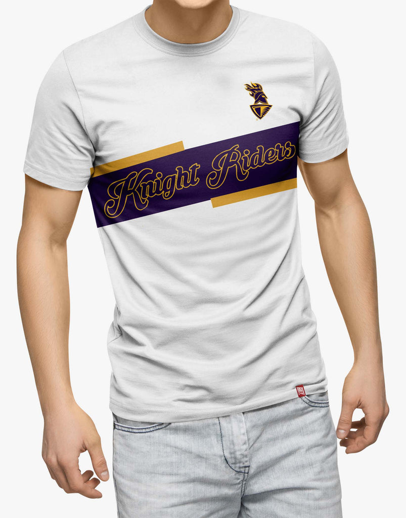 MEN'S KKR OFFICIAL 2020 DRIFIT TEE WHITE