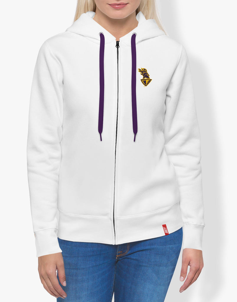 WOMEN'S KKR OFFICIAL 2020 HOODIE WHITE