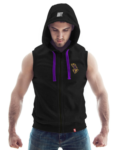 MEN'S KKR OFFICIAL 2020 TRAINING HOODIE BLACK