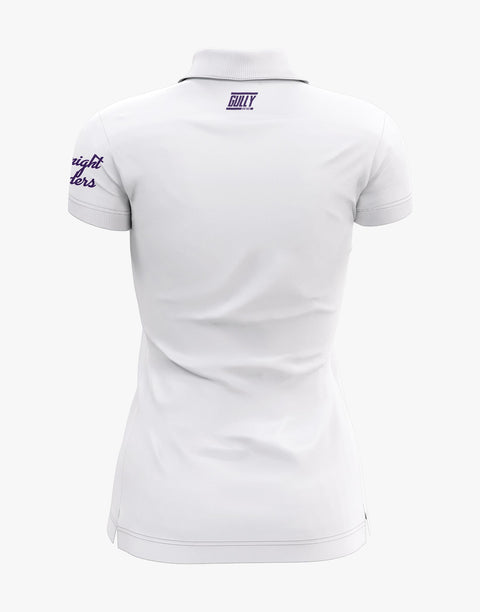 WOMEN'S KKR OFFICIAL 2020 POLO WHITE