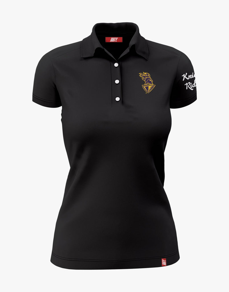 WOMEN'S KKR OFFICIAL 2020 POLO BLACK
