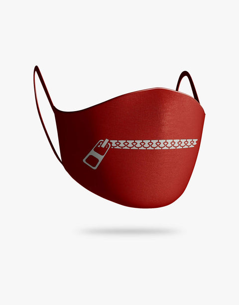 Zip It Mask (Red)