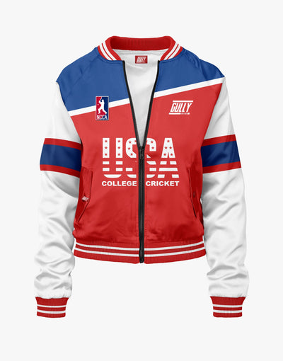 NCCA College Cricket Bomber WITH CUSTOMISE OPTION