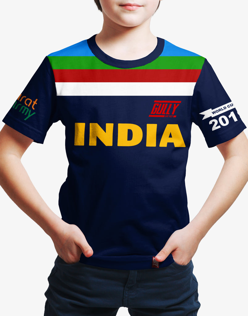 GULLY X BHARAT ARMY WORLD CUP TEE