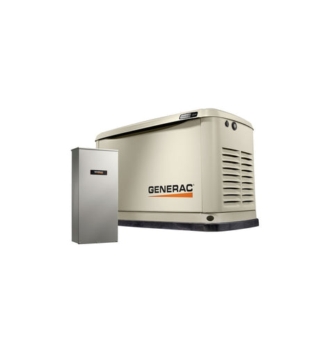 7043 Guardian 22kW Home Backup Generator with Whole House Transfer Switch WiFi-Enabled