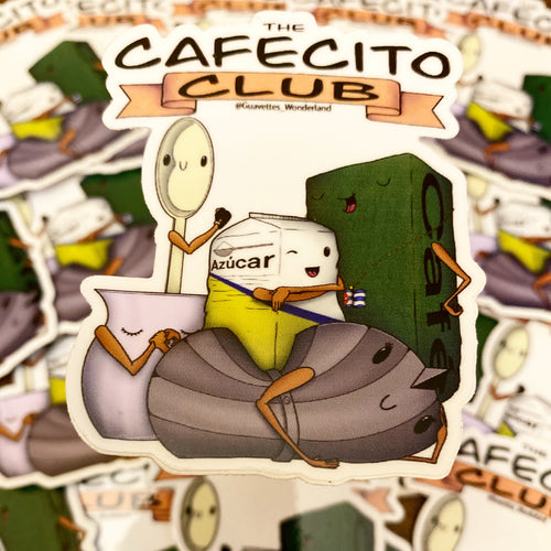 The Cafecito Club Sticker