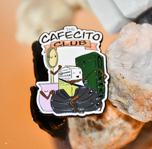The Cafecito Club Pin