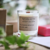 Apothecary Vegan Candle with wooden wick
