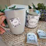I LOVE YOU - Personalised Tea Bags with you own messages - Aphrodite and Ares ethical store