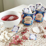 12 reasons why WE ARE BEST FRIENDS personalised tea bags