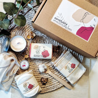 'Home Sanctuary' Personalised Vegan Organic Spa Gift