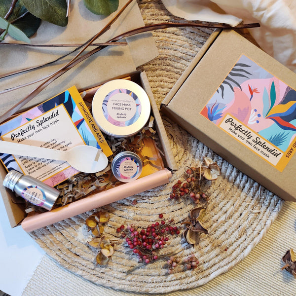 Make Your Own Purifying Vegan Face Mask - Letterbox Gift Set - Aphrodite and Ares ethical store
