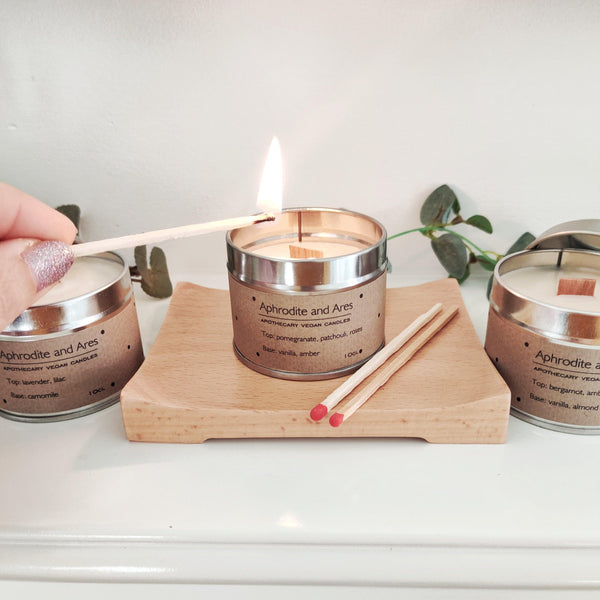 'A Moment For You' Trio Of Vegan Relaxing Candles