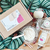 Aphrodite and Ares DIY Soy Candle Kit