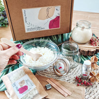 DIY Soy Candle Kit Aphrodite and Ares