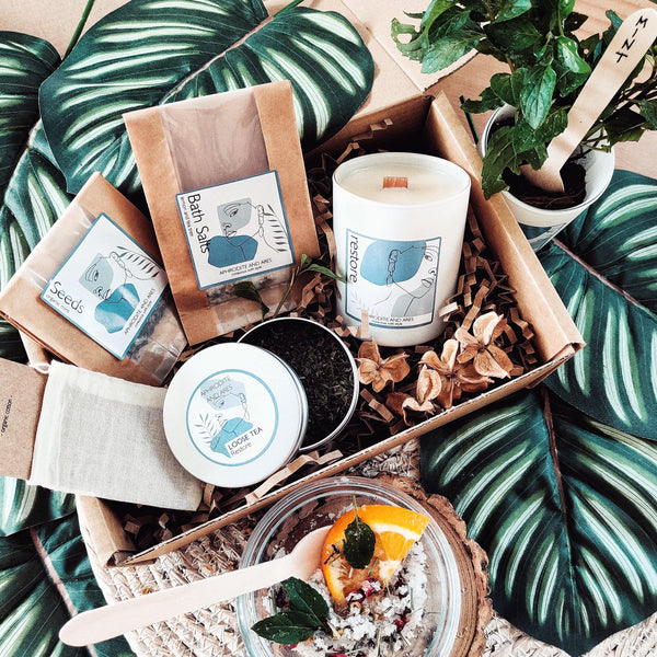 Grow And Make Your Own 'Restore' Pamper Night - Aphrodite and Ares ethical store