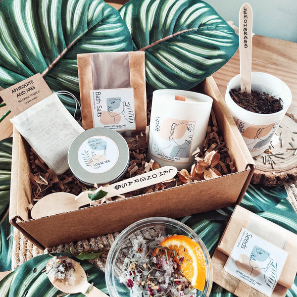 Grow And Make Your Own 'Uplifting' Organic Pamper Kit - Aphrodite and Ares ethical store