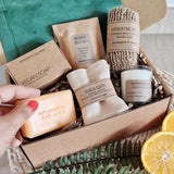 Aphrodite and Ares Pampering Vegan and Eco friendly bath gift set for her