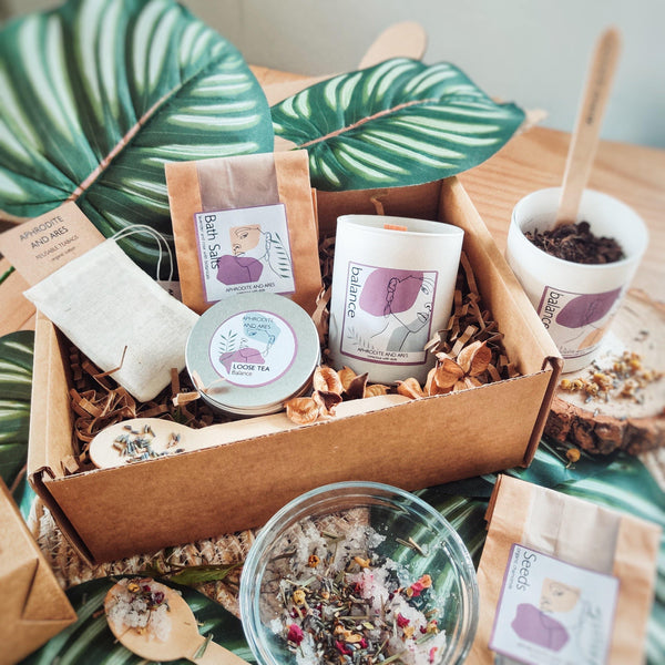 Grow And Make Your Own Organic 'Balance' Pamper Kit