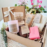 'Hemera' Eco-friendly Vegan Pampering Bath Gift Set for her