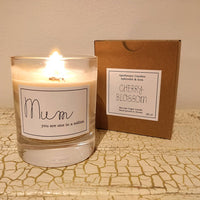 Personalised Note Vegan Candle - Aphrodite and Ares ethical store
