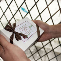 12 Reasons Why I Love You Personalised Chocolates Gift - Aphrodite and Ares ethical store
