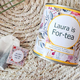 For-TEA Personalised 40th Milestone Tea Set - Aphrodite and Ares ethical store